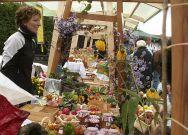 Obstmarkt in Lalling